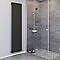 Radiateur eau chaude BLYSS Faringdon anthracite vertical 762W
