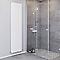 Radiateur eau chaude BLYSS Faringdon blanc vertical 1387W