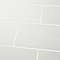 Carrelage mur blanc 25 x 40 cm Alexandrina (vendu au carton)