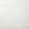 Carrelage mur blanc 25 x 50 cm Brindisie décor (vendu au carton)
