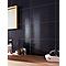 Carrelage mur noir 25 x 40 cm Salerna (vendu au carton)