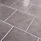 Carreau de sol Cimenti 30,7 x 30,7 cm gris (Vendu au carton)