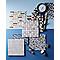Mosaïque en travertin 30,5 x 30,5 cm Padoue