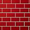 Carrelage mural Métro rouge 10 X 20 cm Colours Trentie (vendu au carton)
