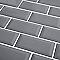 CARRELAGE MURAL Métro GRIS 10 X 20 CM COLOURS TRENTIE (VENDU AU CARTON)