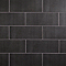 Carreau mural Konkrete 20 x 50 cm anthracite