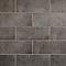 Carrelage mur gris 20 x 50 cm Konkrete (vendu au carton)