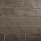 Carrelage mural Mile Stone 20 x 50 cm gris (vendu au carton)