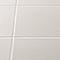Carrelage mur/sol Konkrete 20 x 20 cm Blanc