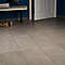 Carrelage sol gris 30,7 x 61,7 cm Mile Stone (vendu au carton)