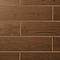 Carrelage sol marron 60 x 15 cm Arrezo (vendu au carton)