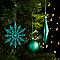 Assortiment de décorations de Noël vertes, 50 pièces