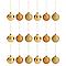 Boule ø60 mm dorée (18 pièces)