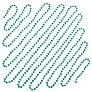 Guirlande de perles 5 m verte