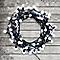 Guirlande lumineuse boule 120 LED blanc froid, électrique