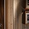 Baguette d'angle arrondie chêne 23 x 23 mm L.2,4 m