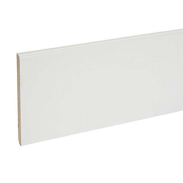 Plinthe Mdf Blanc 240 X 10 Cm Ep 10 Mm Castorama