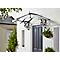 Auvent Canopy Lily noir  1,75 x 1,25 x 0,8 m