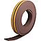 Joint caoutchouc adhésif profil K Diall marron L.6 m