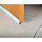 Bas de porte pvc caoutchouc blanc ép.25 mm L.100 cm