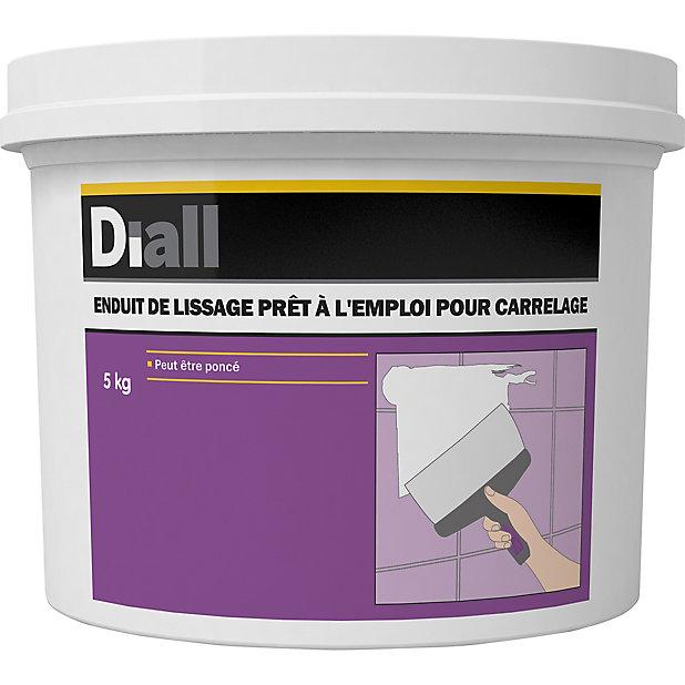 Enduit De Lissage Pour Carrelage Pret A L Emploi Diall 5kg Castorama