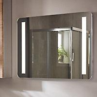 Miroir éclairant Berrow 80 x 60 cm