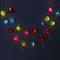 Guirlande solaire LED BLOOMA Estevan RGB 5m