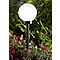 Boule solaire BLOOMA Kimberley noir Ø20 cm