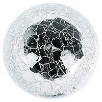 Balise solaire à piquer LED Blooma transparente RVB H.55,8 cm