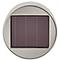 Balise solaire à piquer LED chrome H.57,5 cm