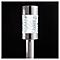 Balise solaire à piquer LED laiton H.57,5 cm