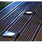 Spot à encastrer LED Blooma IP65 & IP67 carré argent