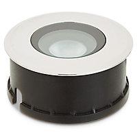 Spot à enterrer LED Blooma Brockton chrome blanc neutre IP65