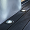 Spot à enterrer LED Blooma Brockton chrome blanc neutre