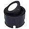 Spot LED à encastrer BLOOMA Dodson noir 13,5W
