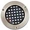 2 spots solaires à encastrer LED BLOOMA Glend argent