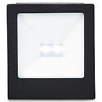 Spot solaire à encastrer LED Blooma Plevna IP54 noir 1W