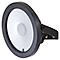 Projecteur LED BLOOMA Brockville noir + télécommande