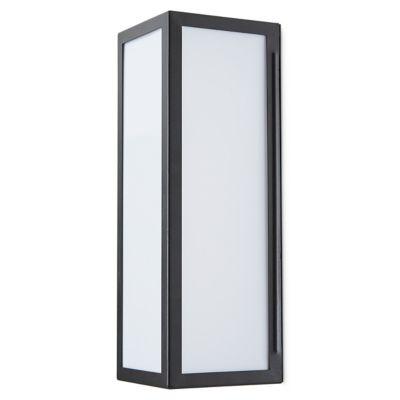 Applique extérieure LED Blooma Aniak noir IP44