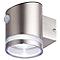 Applique à détection solaire LED Blooma chrome