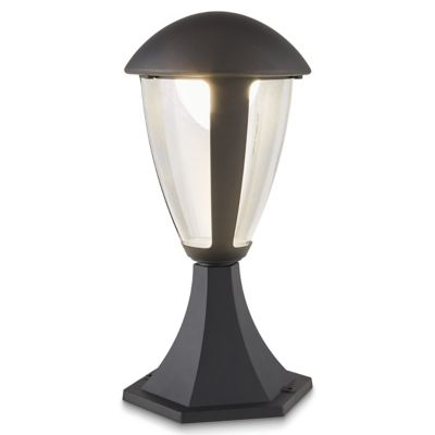 Borne LED Blooma Fredericton noir H.33 5 cm IP44