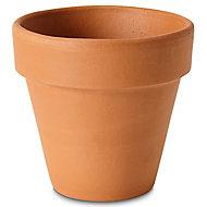 Pot rond terre cuite Verve Laleh ø11,2 x h.10 cm