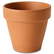 Pot rond terre cuite Verve Laleh ø13,1 x h.11 cm