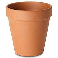 Pot rond terre cuite Verve Laleh ø27,3 x h.24 cm