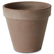 Pot rond terre cuite Verve Laleh foncé ø23 x h.20 cm