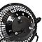 Mini ventilateur noir ø 9 cm avec prise USB