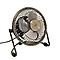 Mini ventilateur cuivre ø 9 cm avec prise USB