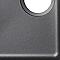 Évier en granit noir 1,5 bacs à encastrer Galvani