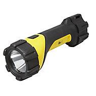 Lampe torche caoutchoutée usage intensif Diall 80 lumens