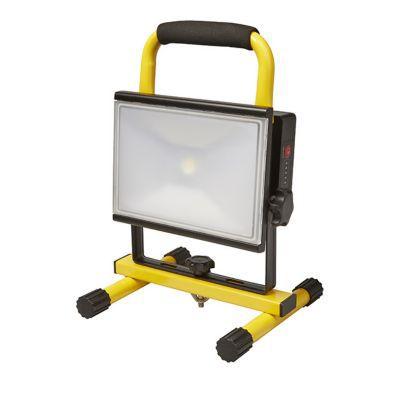 projecteur de chantier led rechargeable sur support diall23w castorama. Black Bedroom Furniture Sets. Home Design Ideas